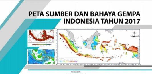 Peta Gempa
