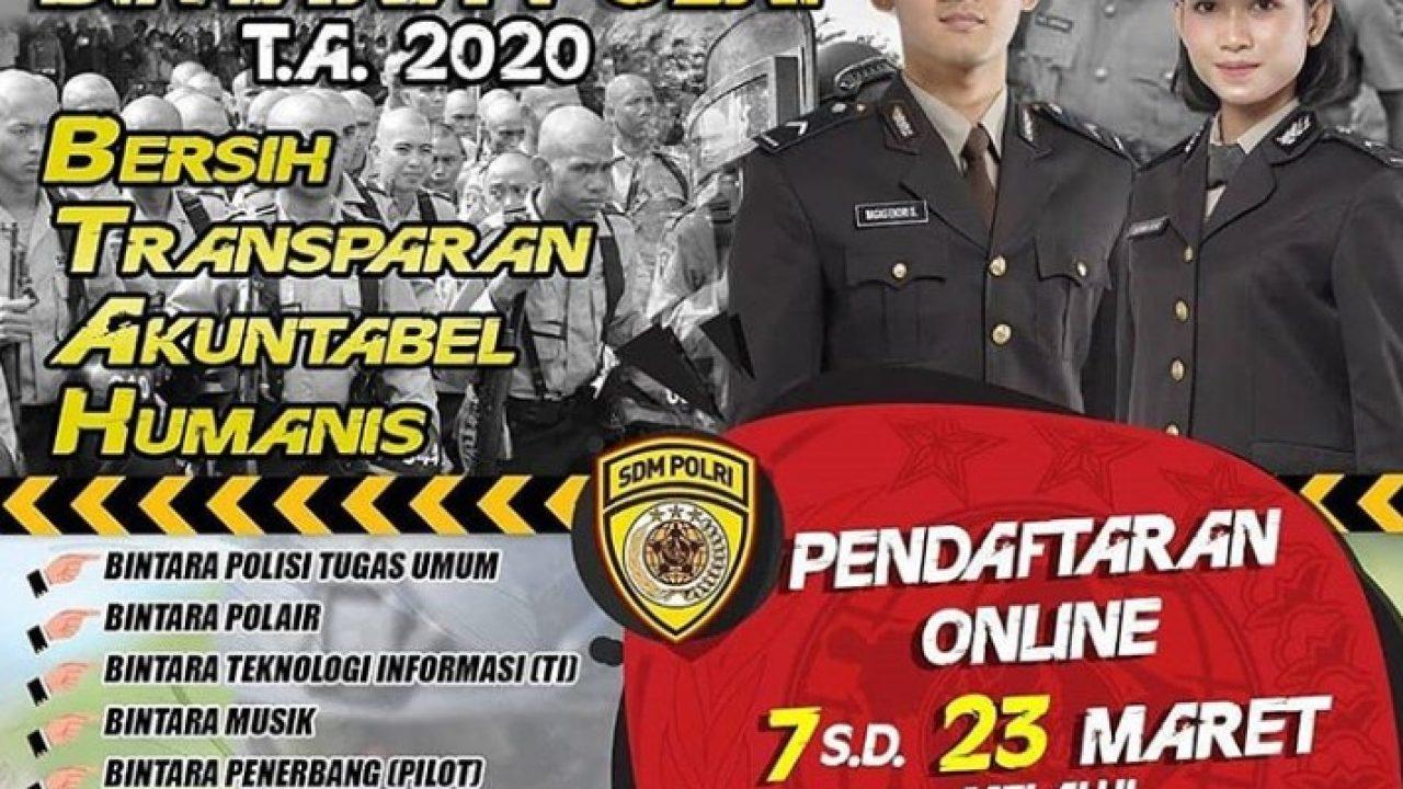 Pembukaan Pendaftaran Polri Akpol Bintara Tamtama Tanggal 7 23