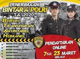 Pendaftaran Bintara Polri
