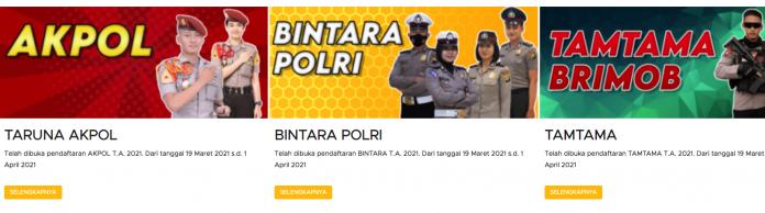 Pendaftaran Polri
