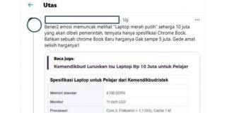 Harga laptop 10 jutaan Untuk Sekolah